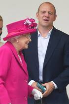 Queen Elizabeth und Mike Tindall