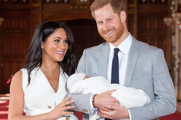 Herzogin Meghan, Prinz Harry, Baby Archie