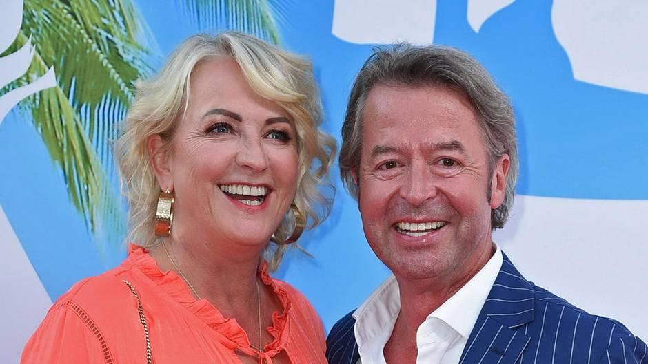 Ulla Kock am Brink mit ihrem Verlobten Peter Fissenewert