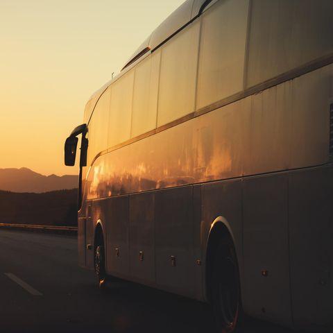 Reisebus (Symbolbild)