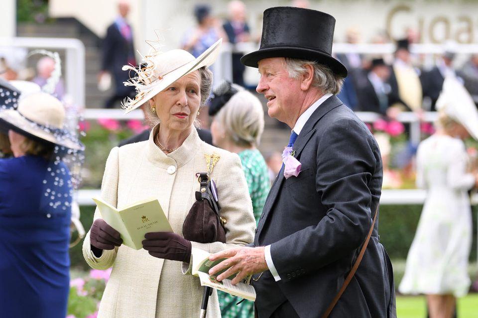 Prinzessin Anne und Andrew Parker Bowles