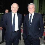Francois-Henri Pinault (Kering) und Sidney Toledano (LVMH) erwiesen Karl Lagerfeld ebenfalls die letzte Ehre.