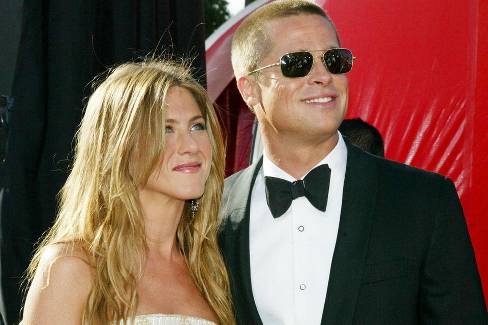 Jennifer Aniston, Brad Pitt