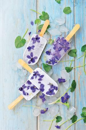 Blüten-Wassereis