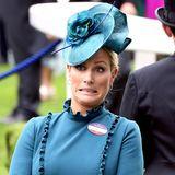 Wer oder was Zara Tindall beim Pferderennen in Ascot so das Gesicht verziehen lässt wissen wir leider nicht ...