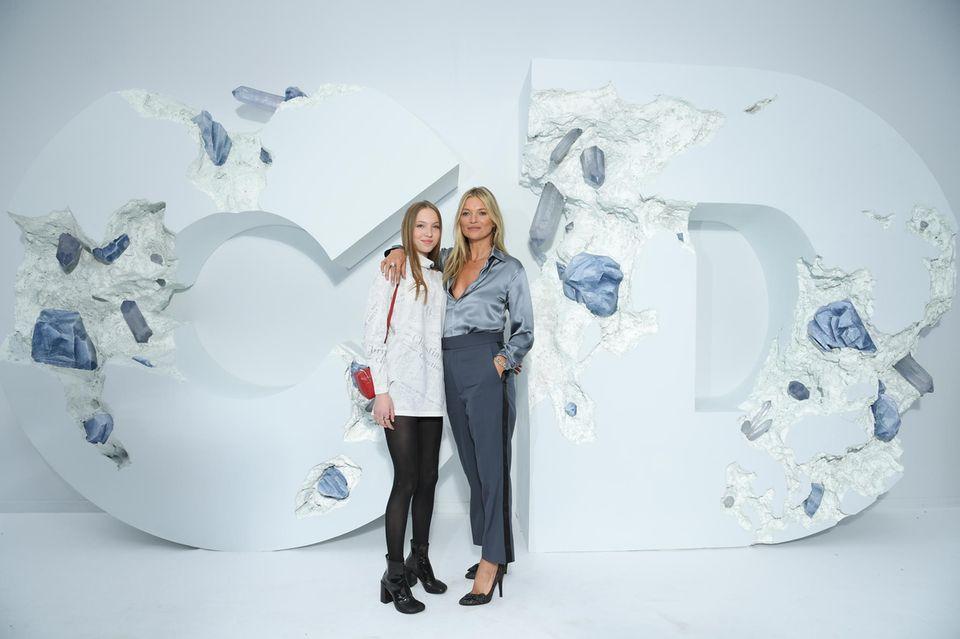 Lila Grace + Kate Moss
