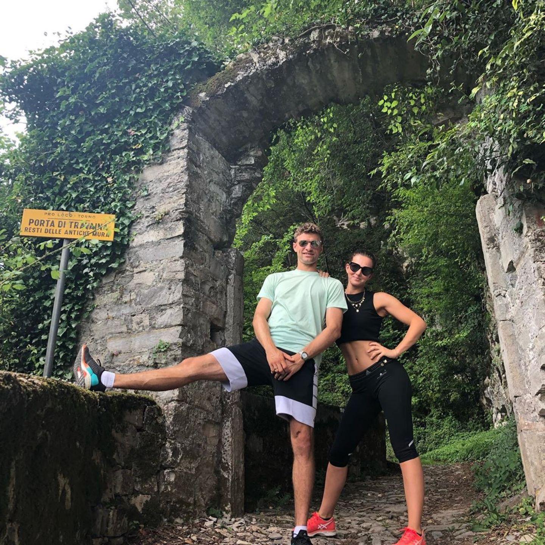 21. Juni 2019  Auch im Urlaub mögen es Thomas und Lisa Müller sportlich.