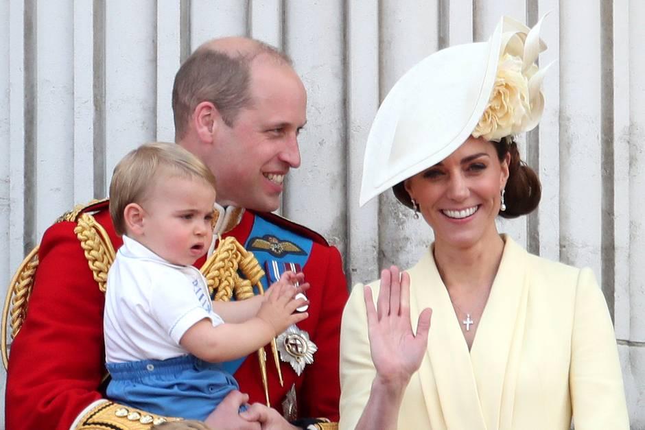 Prinz William, Herzogin Catherine, Prinz George, Prinzessin Charlotte, Prinz Louis