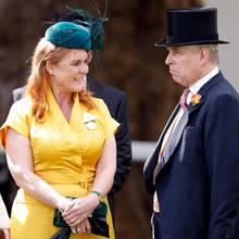 Sarah Ferguson und Prinz Andrew beim Royal Ascot 2019