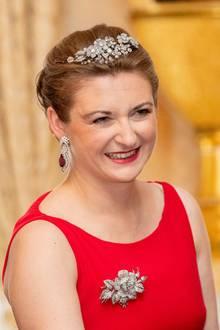 23. Juni 2019  Die Herzogin lächelt in die Kamera.