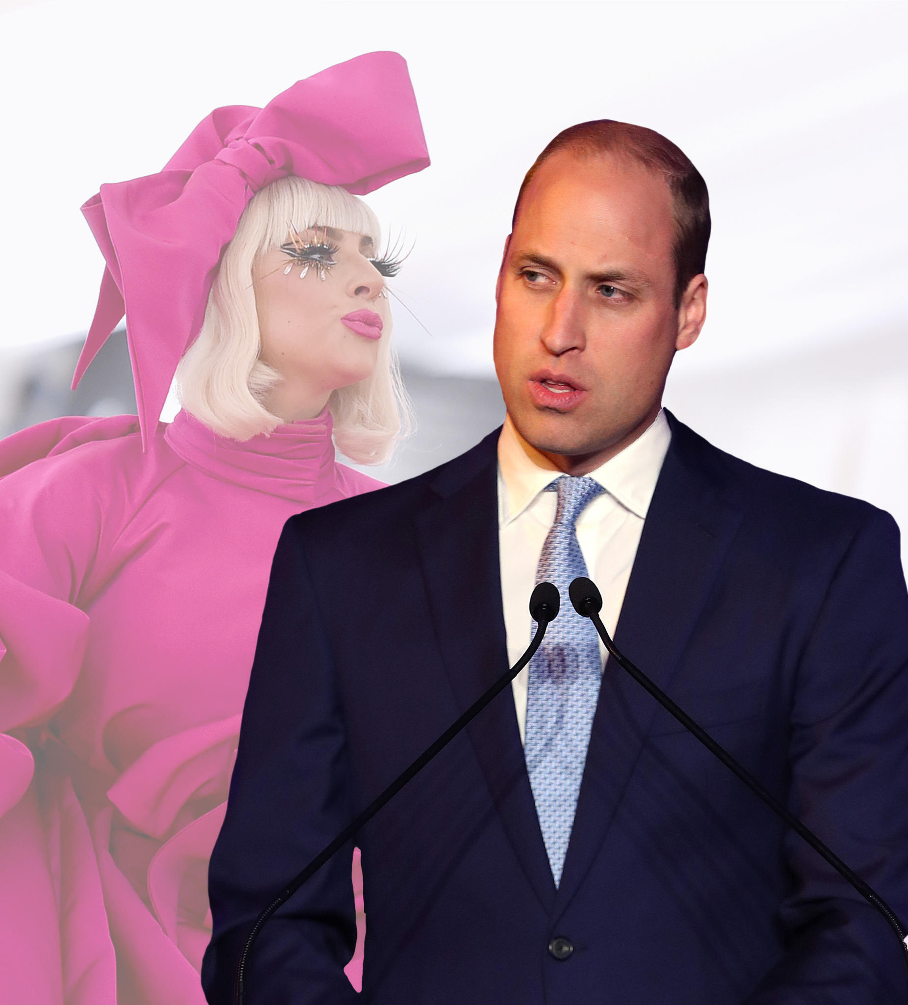 Lady Gaga, Prinz William