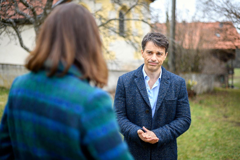 """""""Sturm der Liebe"""" für Eva Saalfeld (Uta Kargel) und Robert (Lorenzo Patané)"""