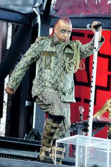"""Till Lindemann, Frontmann der Band """"Rammstein"""""""