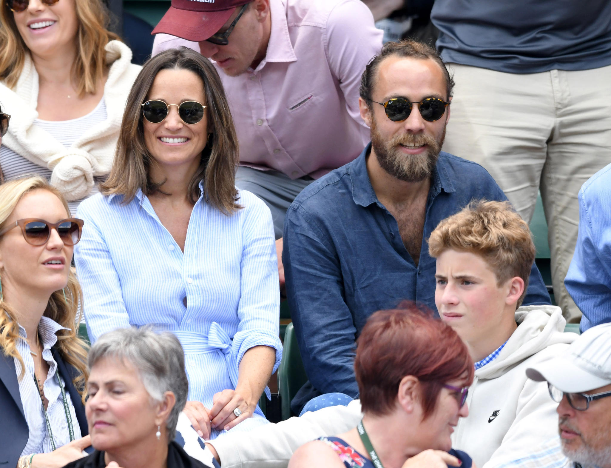 James Middleton, Pippa Middleton