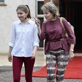 Prinzessin Elisabeth begleitet ihre Mutter Mathilde überraschend auf deren Reise nach Kenia. Die Königin von Belgien ist mit ihrer Tochter im Namen von Unicef in das afrikanische Land gereist.
