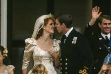 Sarah Ferguson und Prinz Andrew, 26. Juli 1986