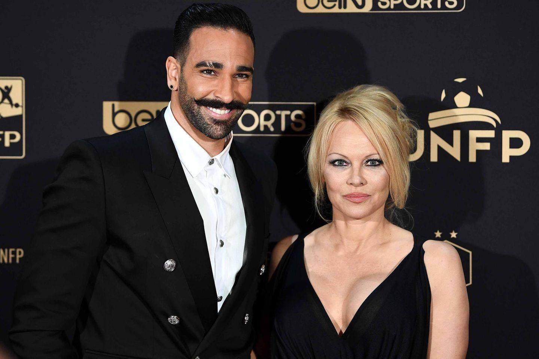Adil Rami und Pamela Anderson