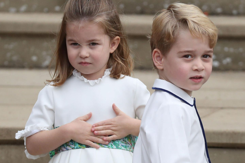 Prinzessin Charlotte + Prinz George