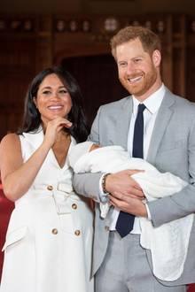 Herzogin Meghan, Prinz Harry + Archie Harrison Mountbatten-Windsor