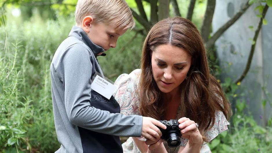 Herzogin Catherine beim Fotografie-Workshop