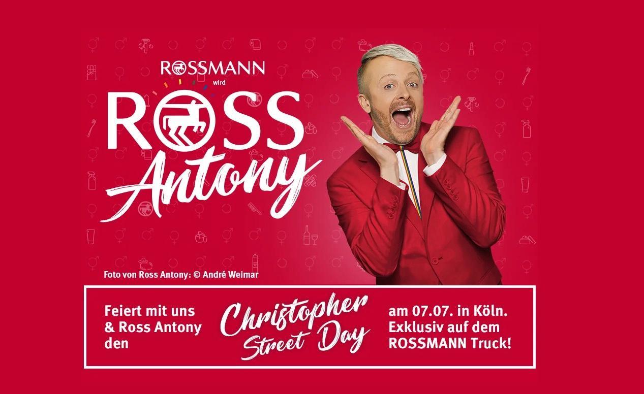 Rossmann plant witzige Aktion zum CSD