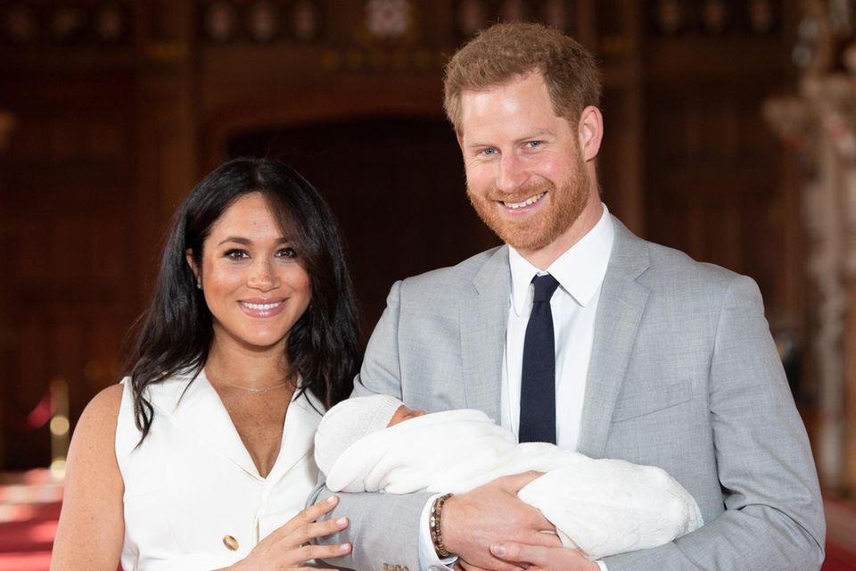 Herzogin Meghan, Prinz Harry und Baby Archie
