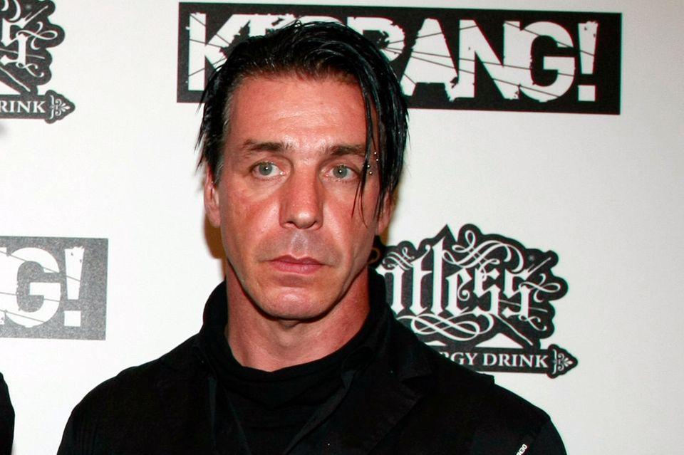 """Till Lindemann, Sänger der Band """"Rammstein"""""""