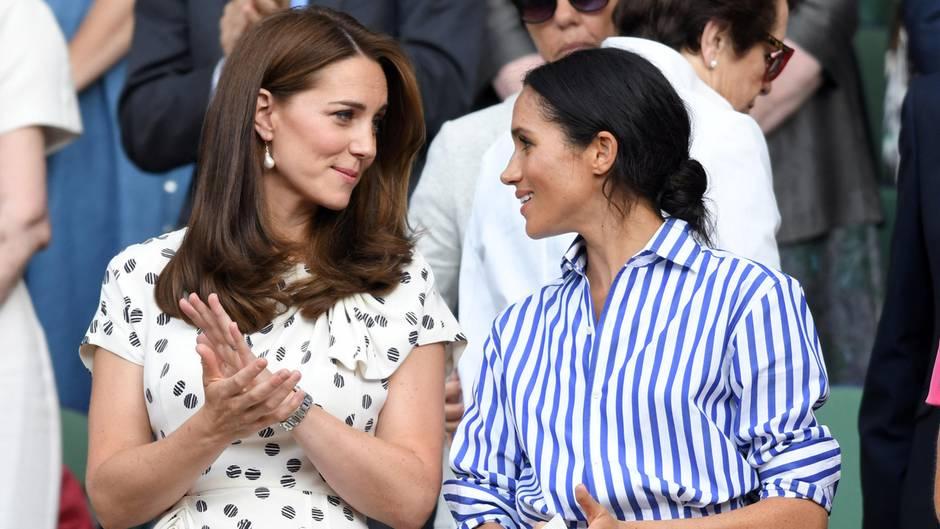 Herzogin Catherine und Herzogin Meghan