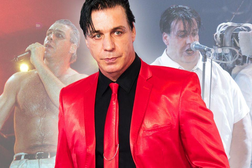 Till Lindemann, Sänger der Band Rammstein