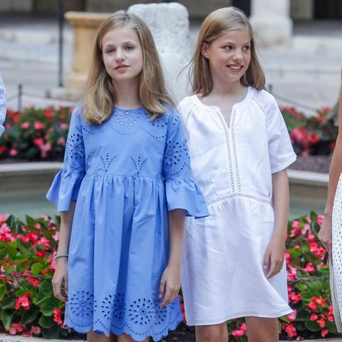 Prinzessin Sofia und Prinzessin Leonor
