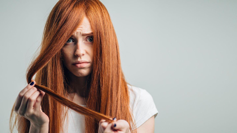 Ansatz abgebrochene haare kaschieren am Haare brechen