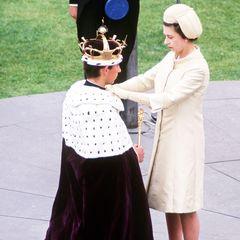 """Der 20-Jährige ist nun offiziell der """"Prince of Wales"""".Wenn Charles eines Tages den Thron besteigt, wird der Titel an seinen ältesten Sohn Prinz William weitergegeben."""