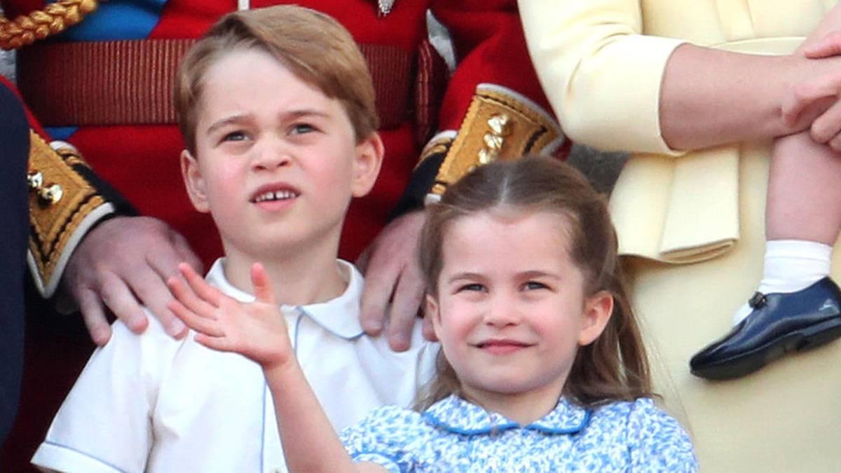 Wie George und Charlotte ihre ersten Auslandsreisen meisterten