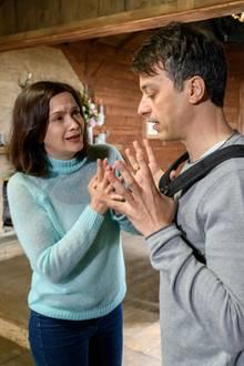 """""""Sturm der Liebe"""": Eva (Uta Kargel) und Robert (Lorenzo Patané)"""