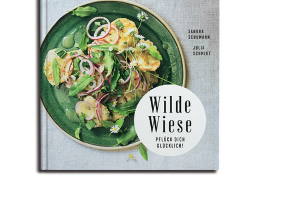 """Ob selbst gepflückt oder gekauft: Wildkräuter und -pflanzen bereichern nicht nur Salate, sondern auch Suppen, Dips und Desserts. Dieses Buch liefert 50 Rezeptideen und stellt die wilden grünen Zutaten im Detail vor. (""""Wilde Wiese"""", Callwey Verlag, 144 S., 20 Euro)"""