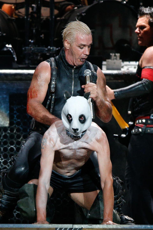 "Till Lindemann und Christian ""Flake"" Lorenz"