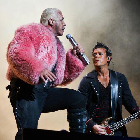 Till Lindemann und Richard Kruspe