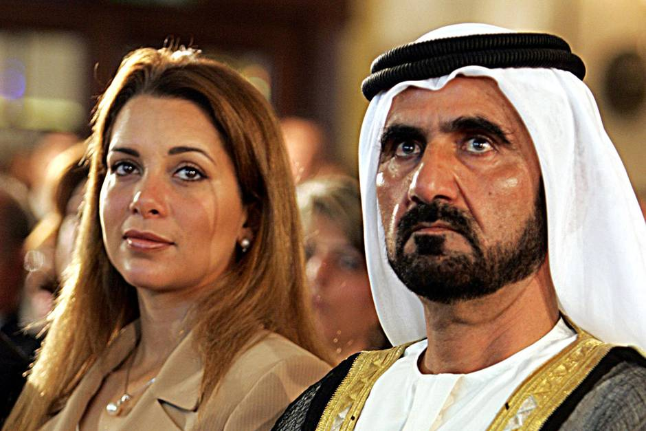 Prinzessin Haya bint al-Hussein und Mohammed bin Raschid Al Maktoum