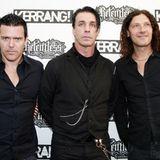 Rammstein-Musiker Richard Kruspe, Till Lindemann und Oliver Riedel (v.l.n.r.)