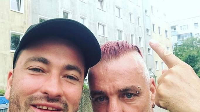 Rammstein Mit Till Lindemann Richard Kruspe Co Auf