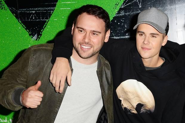 Manager Scooter Braun machteJustin Bieber zum Weltstar