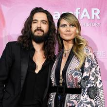 Tom Kaulitz und Heidi Klum in Paris