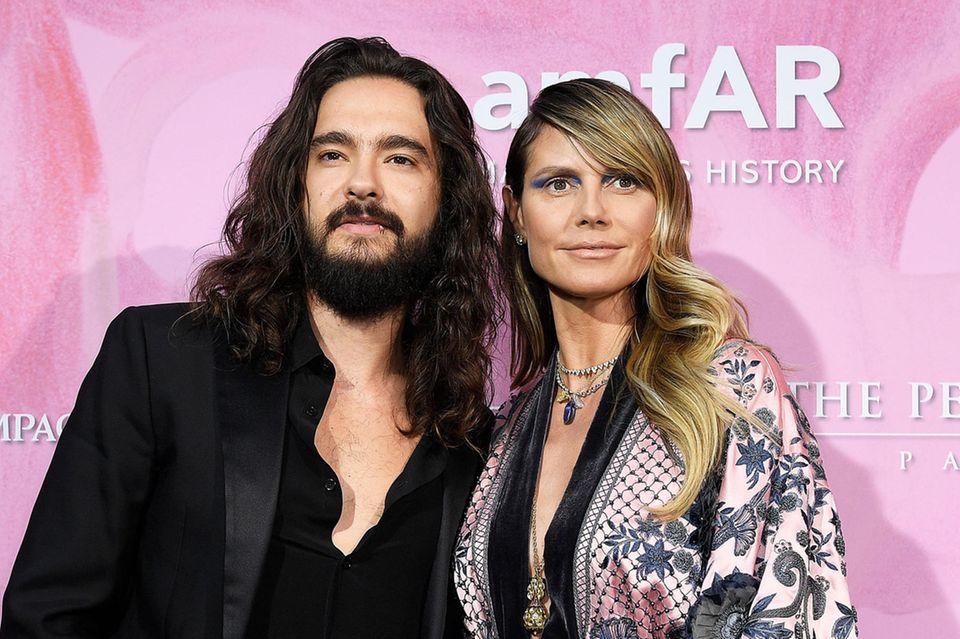 Tom Kaulitz und Heidi Klum in Paris