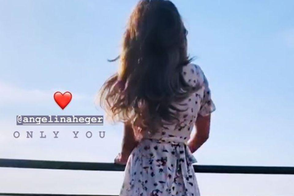 Sebastian Pannek, Angelina Heger, Instagram