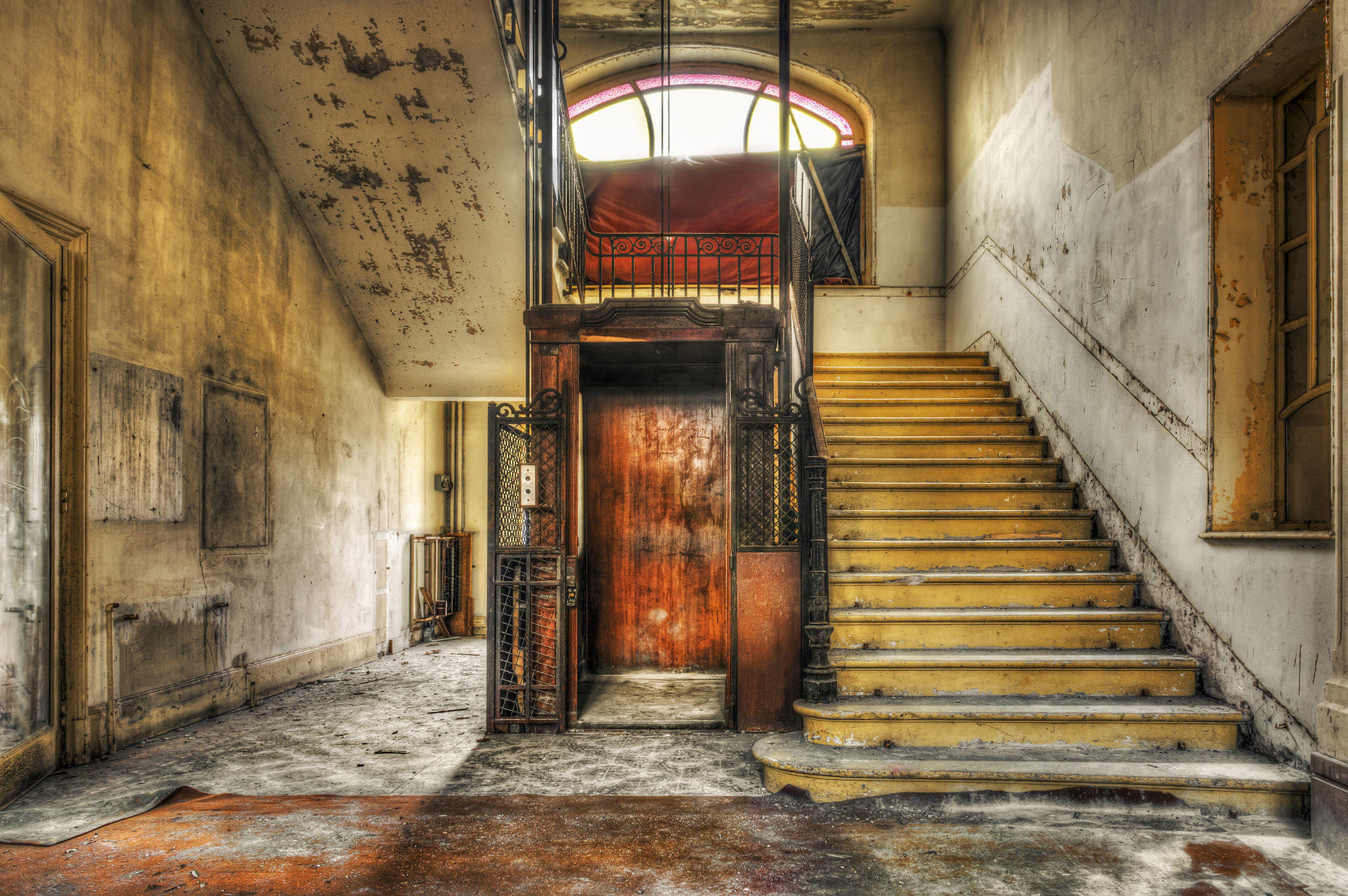 alter Fahrstuhl
