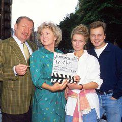 """Die Fernsehserie """"Blankenese"""" dient Martinek Mitte der 1990er als Karrieresprungbrett. In 26 Episoden flimmert sie in der Rolle der """"Tina Neddelbeck"""" über die deutschen Bildschrime."""