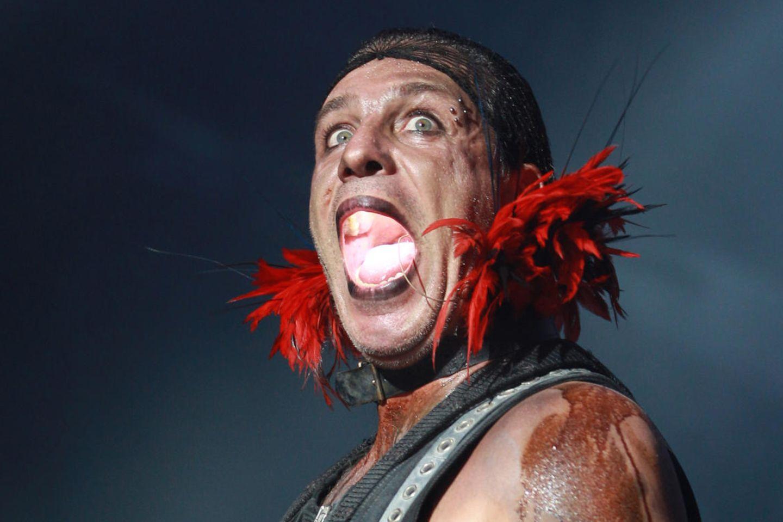 Till Lindemann, Sänger von Rammstein