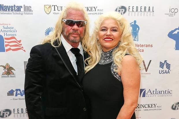 """Duane """"Dog"""" Chapman mit seiner Frau Beth, die am 26. Juni ihrem schweren Krebsleiden erlag."""