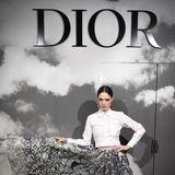 Schwungvoll zeigt sich Topmodel Coco Rocha bei Dior.