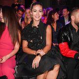 Fiona Erdman ist ein großer Fan von Designerin Irene Luft und nimmt in jeder Saison in der Front Row Platz.